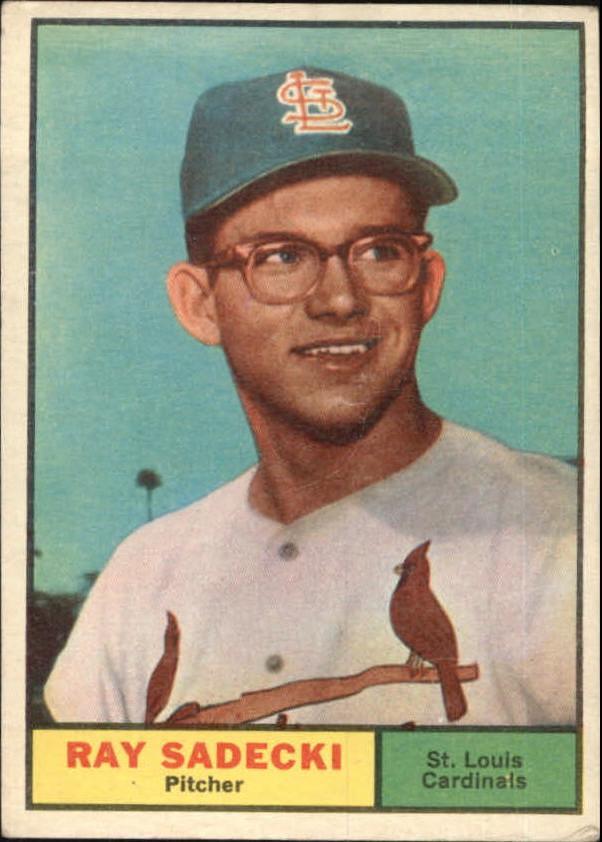 1961 Topps #32 Ray Sadecki