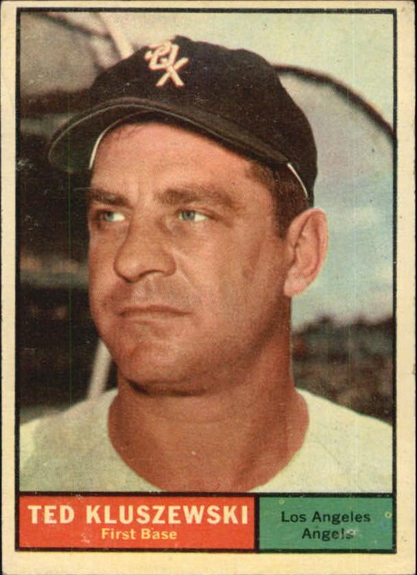 1961 Topps #65 Ted Kluszewski