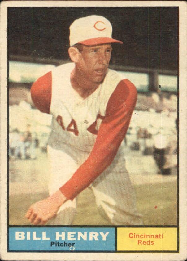 1961 Topps #66 Bill Henry