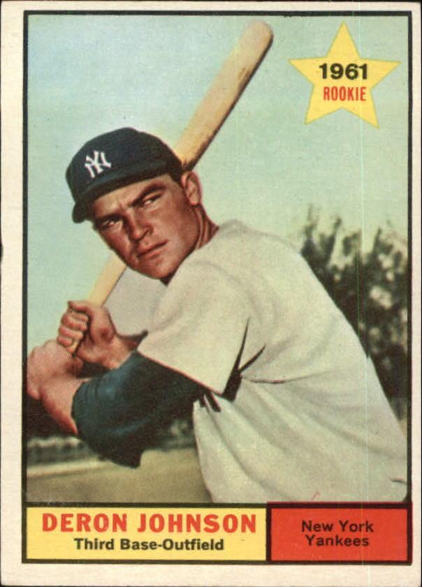 1961 Topps #68 Deron Johnson