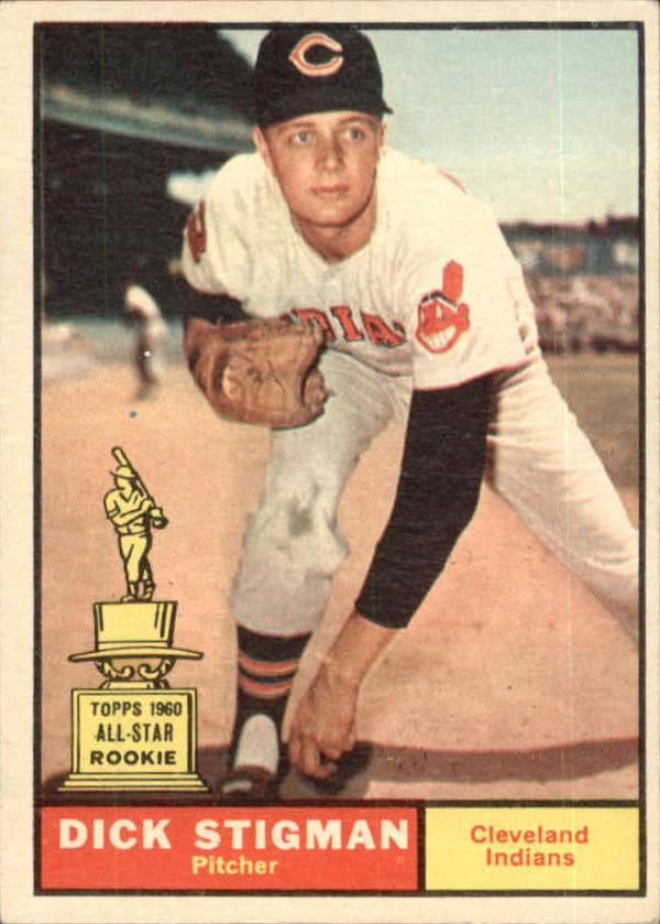 1961 Topps #77 Dick Stigman