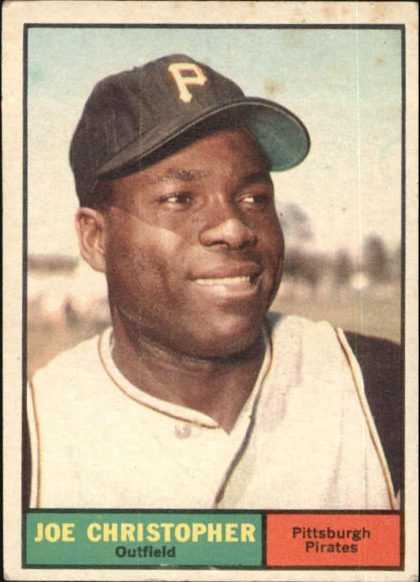 1961 Topps #82 Joe Christopher RC