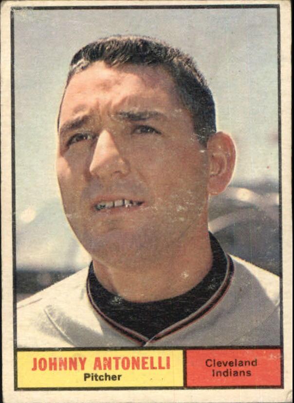 1961 Topps #115 Johnny Antonelli