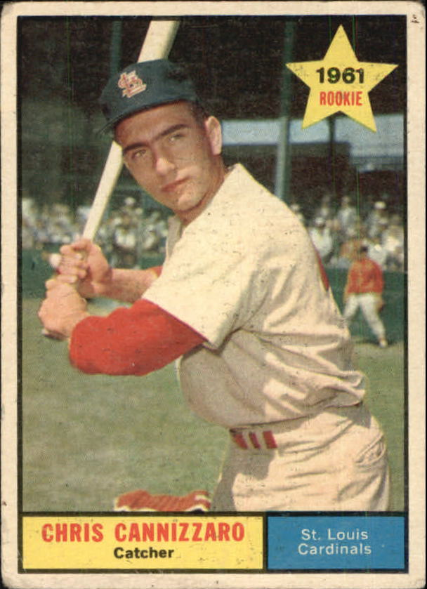 1961 Topps #118 Chris Cannizzaro RC