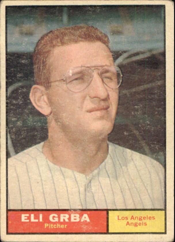 1961 Topps #121 Eli Grba