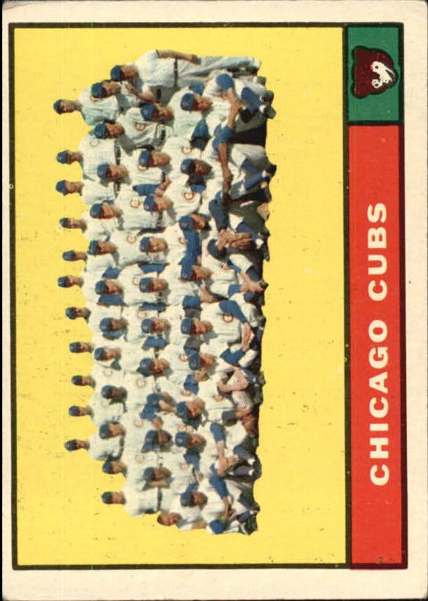 1961 Topps #122 Chicago Cubs TC