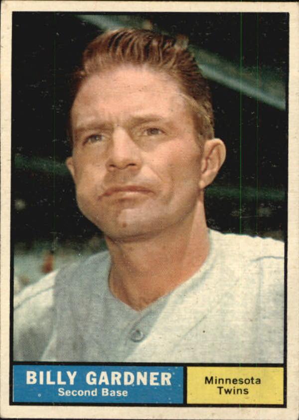 1961 Topps #123 Billy Gardner