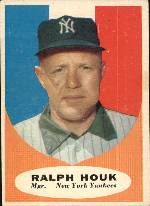 1961 Topps #133 Ralph Houk MG