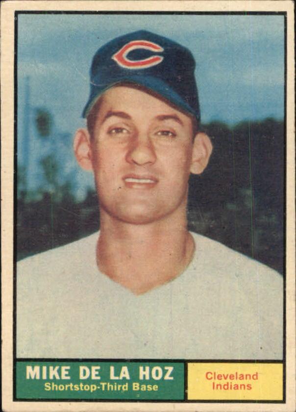 1961 Topps #191 Mike de la Hoz RC