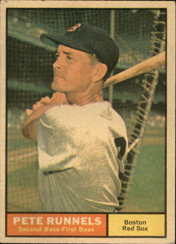 1961 Topps #210 Pete Runnels