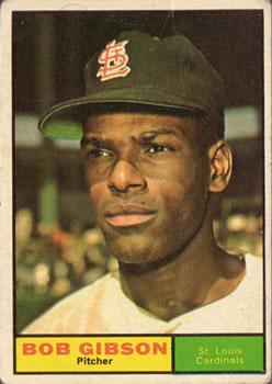 1961 Topps #211 Bob Gibson