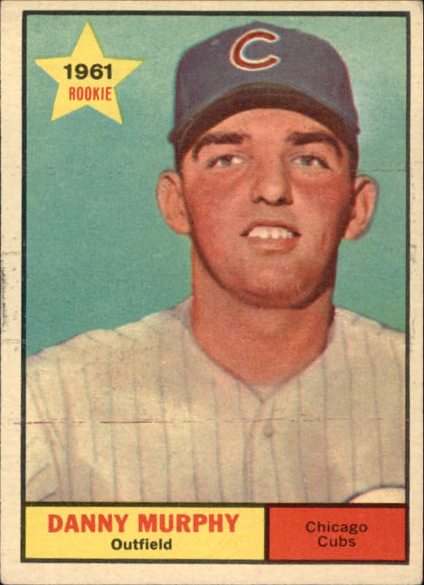 1961 Topps #214 Danny Murphy RC
