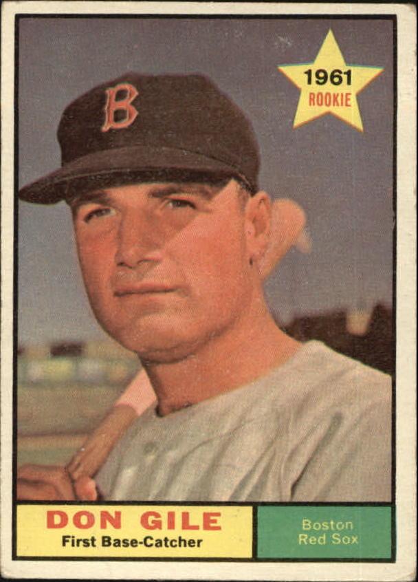 1961 Topps #236 Don Gile RC