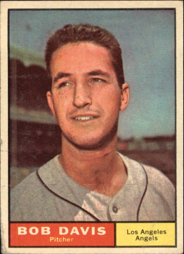 1961 Topps #246 Bob Davis RC
