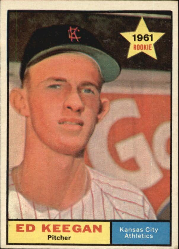 1961 Topps #248 Ed Keegan RC
