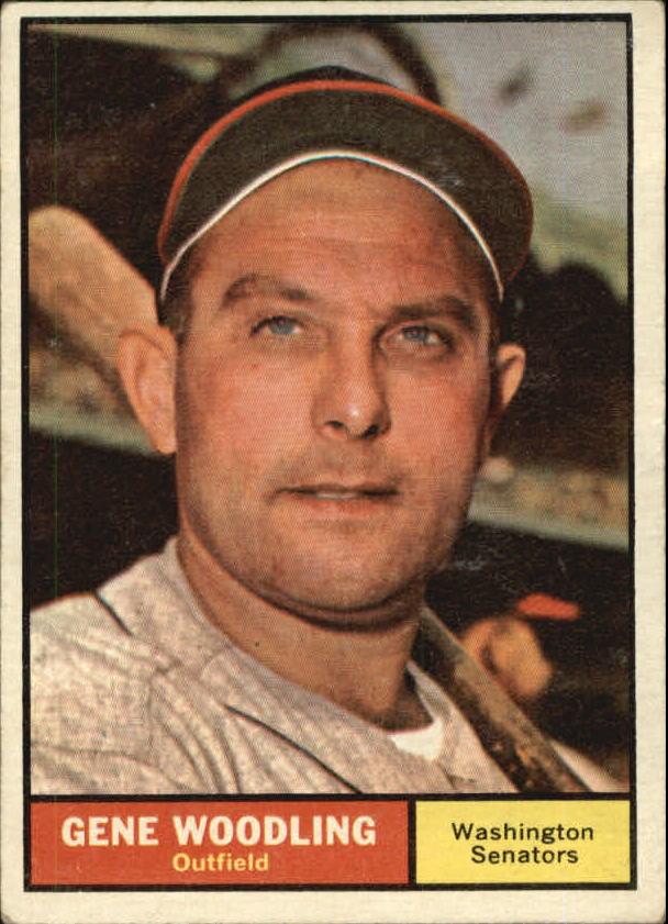 1961 Topps #275 Gene Woodling