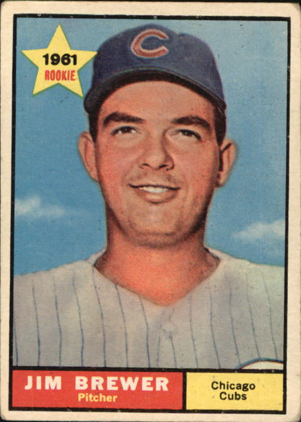 1961 Topps #317 Jim Brewer RC