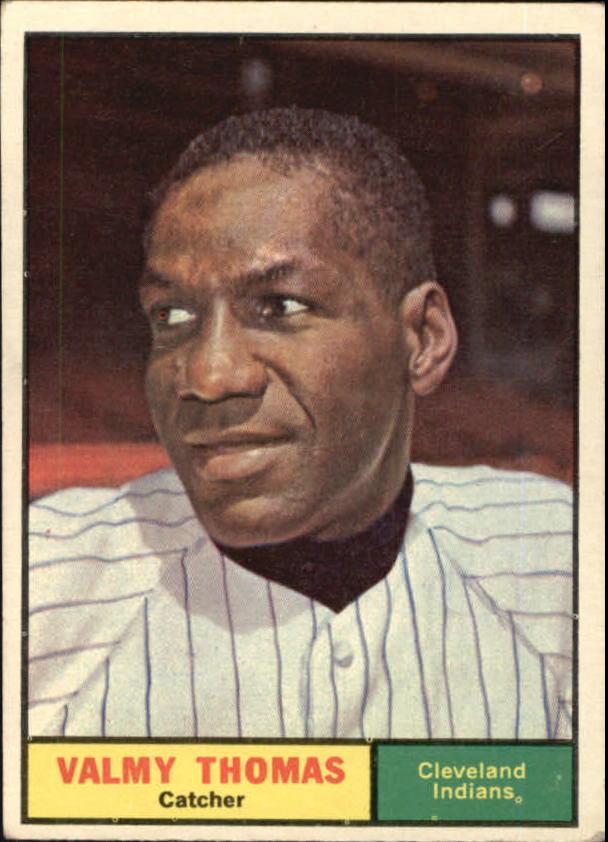 1961 Topps #319 Valmy Thomas