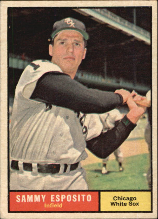 1961 Topps #323 Sammy Esposito