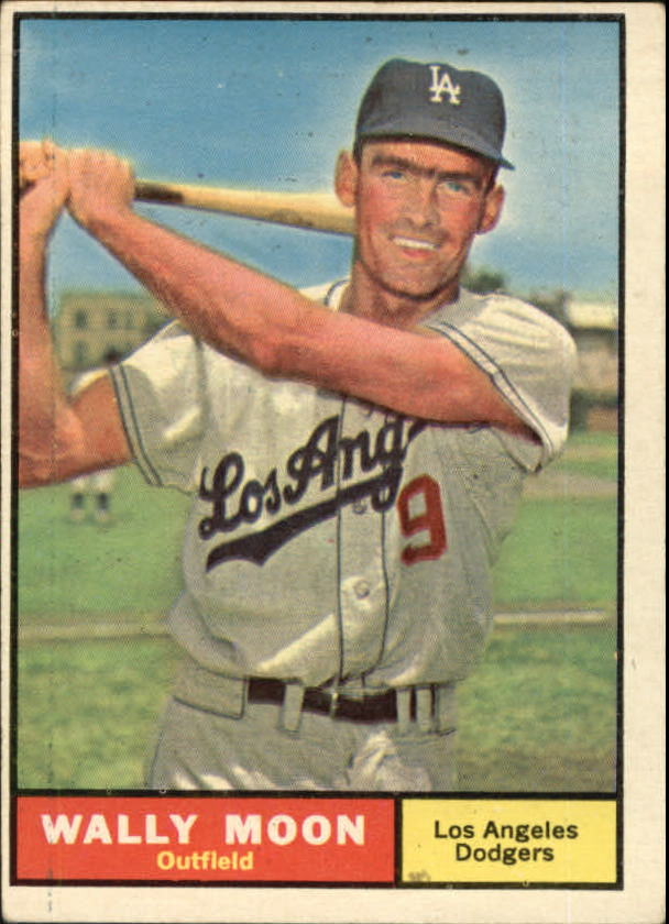 1961 Topps #325 Wally Moon