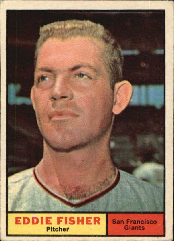 1961 Topps #366 Eddie Fisher