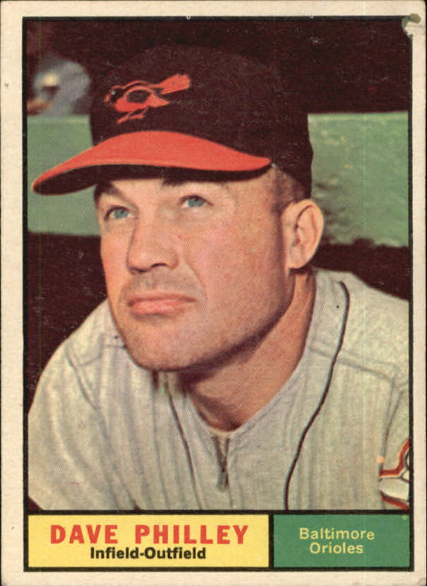 1961 Topps #369 Dave Philley