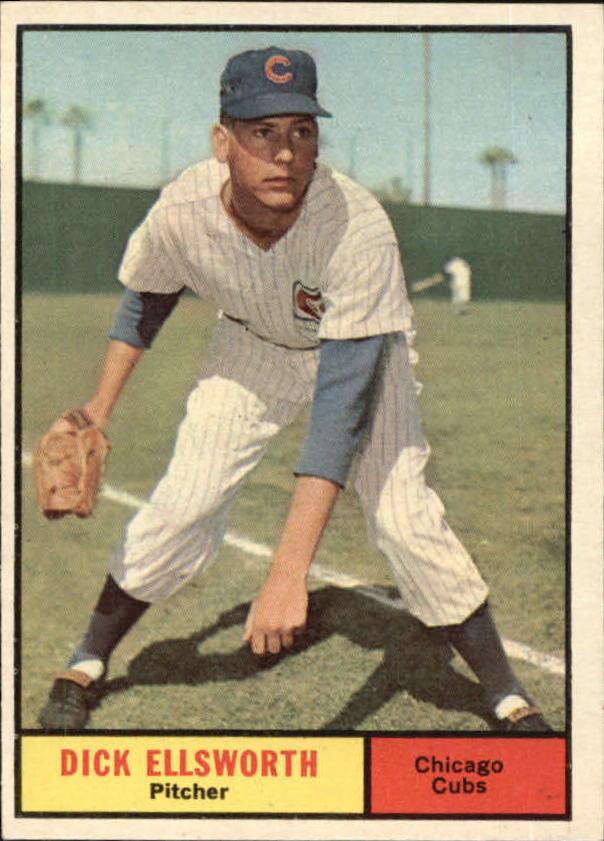 1961 Topps #427 Dick Ellsworth
