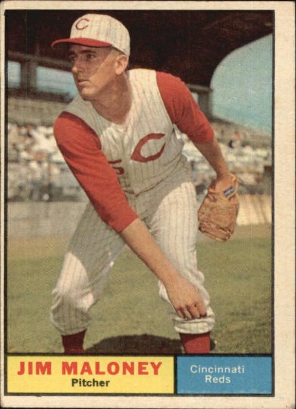 1961 Topps #436 Jim Maloney SP RC