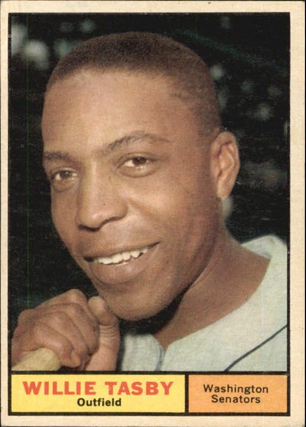 1961 Topps #458 Willie Tasby