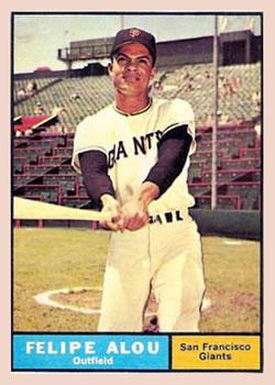 1961 Topps #565 Felipe Alou