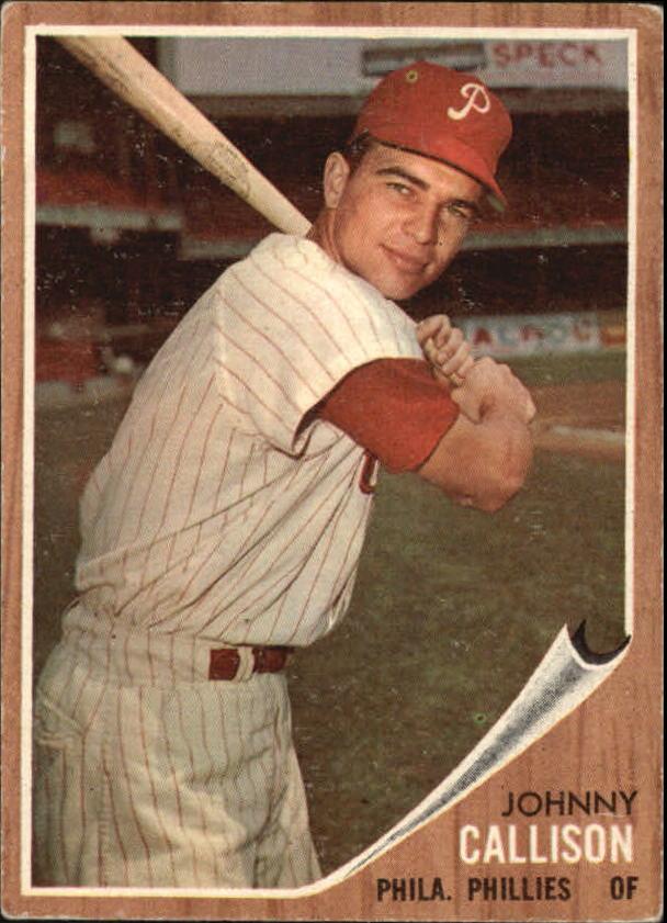 1962 Topps #17 Johnny Callison