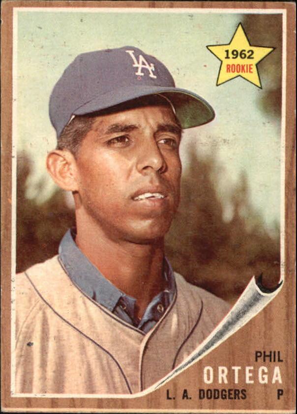 1962 Topps #69 Phil Ortega RC