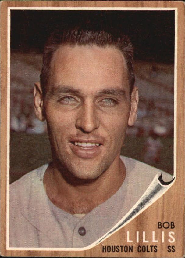 1962 Topps #74 Bob Lillis