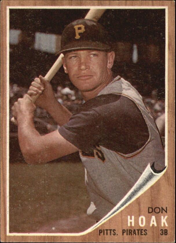 1962 Topps #95 Don Hoak