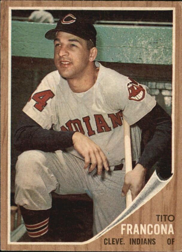 1962 Topps #97 Tito Francona