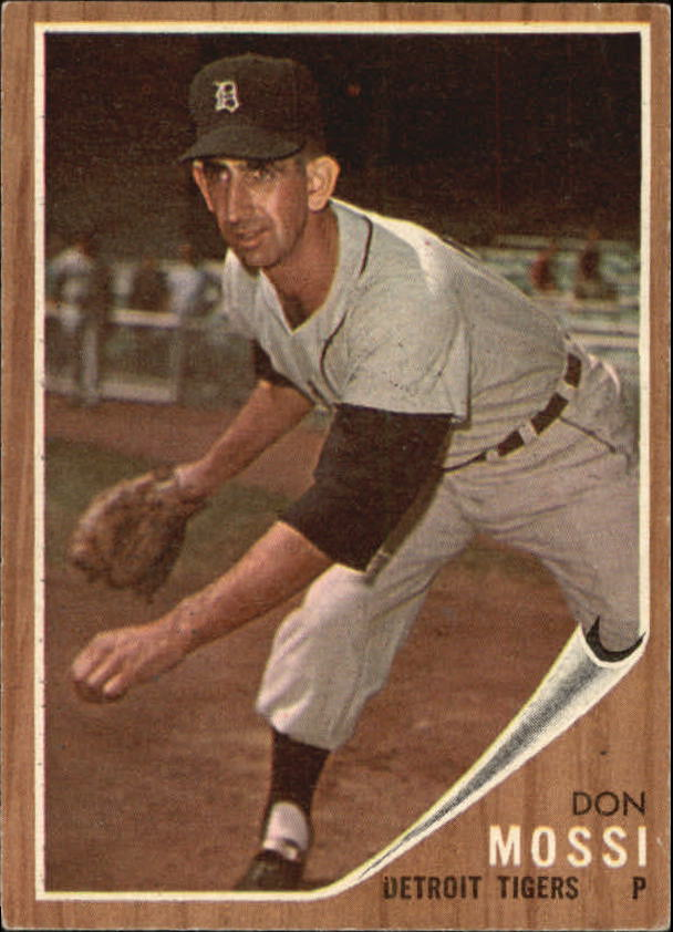 1962 Topps #105 Don Mossi