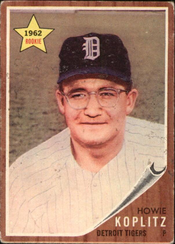 1962 Topps #114 Howie Koplitz RC