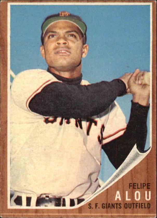 1962 Topps #133 Felipe Alou