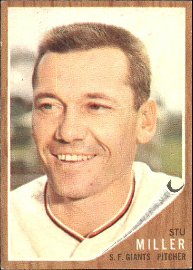 1962 Topps #155 Stu Miller