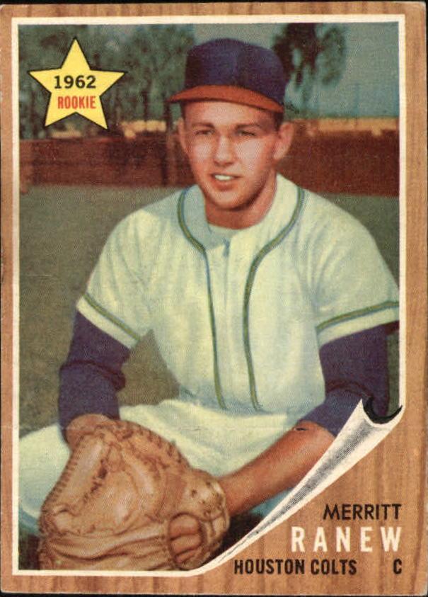 1962 Topps #156 Merritt Ranew RC