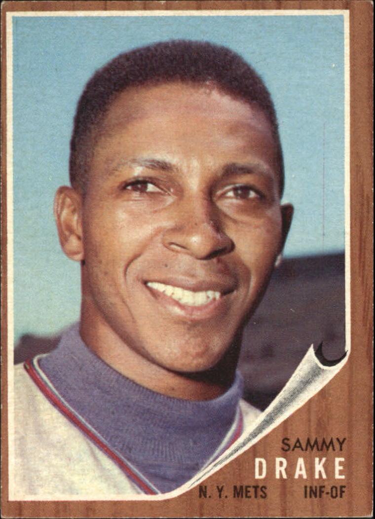 1962 Topps #162 Sammy Drake RC