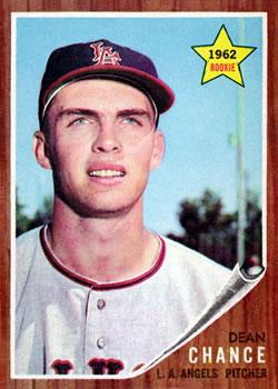 1962 Topps #194 Dean Chance RC