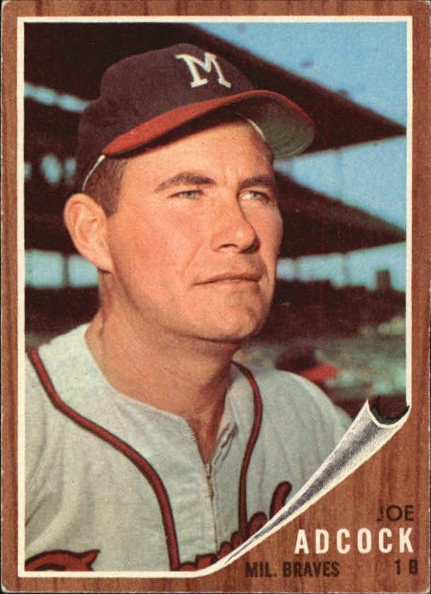 1962 Topps #265 Joe Adcock