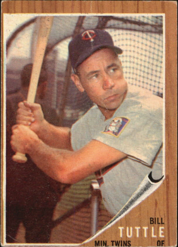 1962 Topps #298 Bill Tuttle