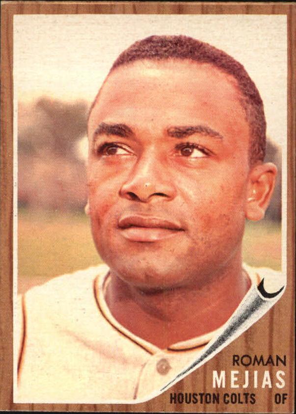 1962 Topps #354 Roman Mejias