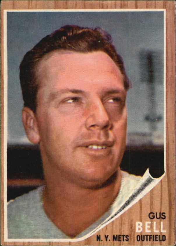 1962 Topps #408 Gus Bell