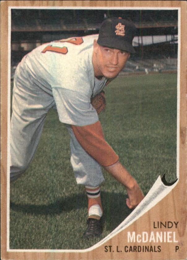 1962 Topps #522 Lindy McDaniel