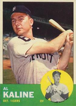 1963 Topps #25 Al Kaline