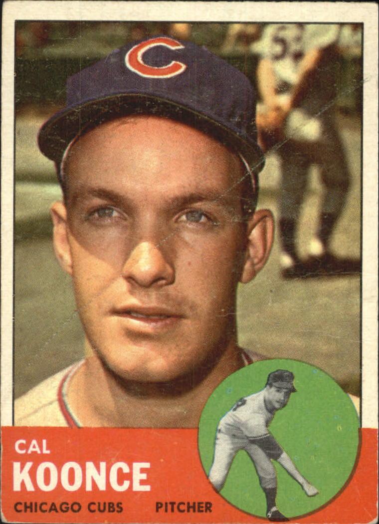 1963 Topps #31 Cal Koonce RC