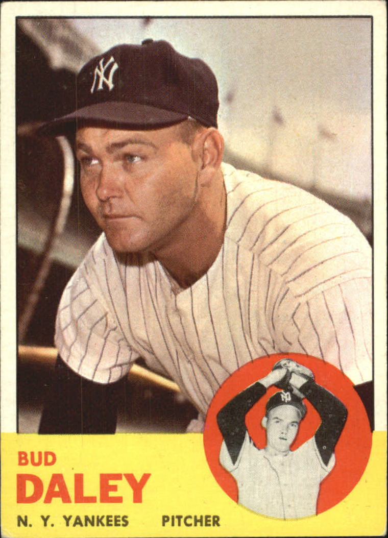 1963 Topps #38 Bud Daley